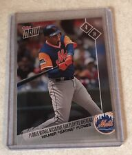 """2017 TOPPS NOW #PW-86 WILMER FLORES WEARS """"CATIRE"""" FOR MLB PLAYERS WEEKEND"""
