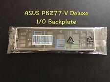 ASUS I/O IO SHIELD BLENDE BRACKET Backplate For P8Z77-V DELUXE Motherboard