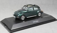 Schuco Volkswagen VW Beetle Open Air in Dark Green 450387800 1/43 Ltd Ed 1000