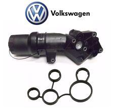 NEW Volkswagen 2.5 Liter L5 Jetta 2005-14 Oil Filter Adapter Housing with Gasket