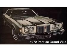 1972 Pontiac Grand Ville Refrigerator  Magnet