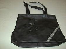 NEW FASHION BLACK WITH BOW HANDBAG PURSE..... ATTRACTIVE & GREAT DEAL