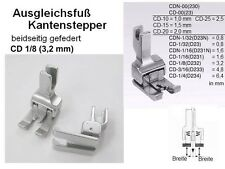 Ausgleichsfuß KANTENSTEPPER beidseitig 3,2 mm CD1/8