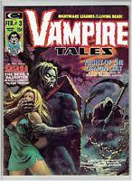 Vampire Tales #3 1974 Morbius Story Satana Appearance Hot Book