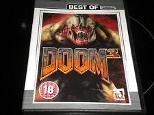 Doom 3 - Best Of Activision - PC Game CD-Rom - 2004 - 18+ - 3 DISCS