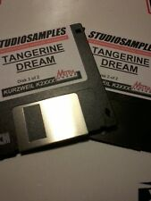 KURZWEIL ~ TANGERINE DREAM ~ 2 Floppy Disks w/Layered V.A.S.T.PROGRAMS!!!