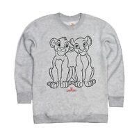 Disney - Lion King Love - Girls - Jumper - Grey