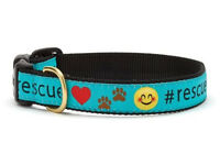 Dog Puppy Design Collar - Up Country - Made In USA - Rescue - Choose Size