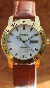 "Vintage CITIZEN Cal. 8200 21 Jewels ""AUTOMATIC"" Men's Wrist Watch Japan Made"