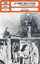 Fiche Cinéma. Movie Card. La femme sur la plage/The woman on the beach (USA)1946