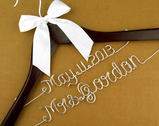 Personalized wedding Hanger,brides bridesmaid gifts name hanger bride hanger