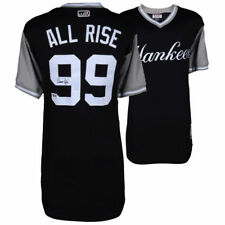 "AARON JUDGE Signed ""All Rise"" 2017 Players Weekend AuthenticJersey FANATICS"