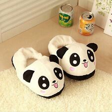 Cute Funny Panda Eyes Women Slippers Lovely Cartoon Indoor Home Soft Shoes Hot