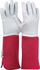 Tommi Gartenhandschuhe Rose Gr 8 pink Ziegenlederhandschuh