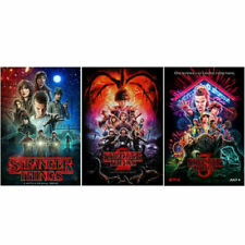 STRANGER THINGS SEASON 1 2 & 3 DVD SERIES 1 2 & 3 BRAND NEW & SEALED + FREE POST