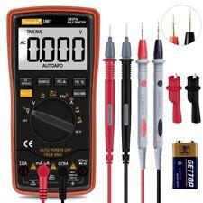 Fluke Digital Multimeter Tester Leads Auto Range Voltage Alert Resistance