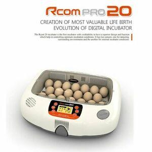 Rcom Pro 20 Humidity Unit Automatic Temperature Egg Incubator Pro 20 220VAC