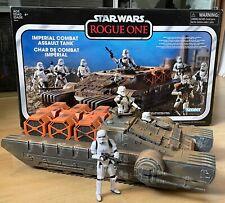 Star Wars 3.75 Vintage Collection Imperial Combat Assault Hovertank + 3 Figuren