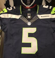 Seattle Seahawks BJ Daniels Team Issue Game used Jersey w/ COA Backup QB