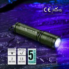 NEW Olight i3UV EOS OD Green Compact Ultraviolet Flashlight HighEfficiency 395nm