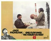 ONE FLEW OVER THE CUCKOO'S NEST ORIG. 8 LOBBY CARD SET