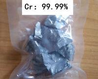 50 grams High Purity 99.99% Chromium Cr Metal Lumps Vacuum packing