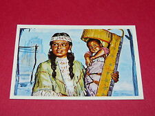 N°27 SQUAW ET SON PAPOOSE CONQUETE OUEST WILLIAMS 1972 PANINI FAR WEST WESTERN