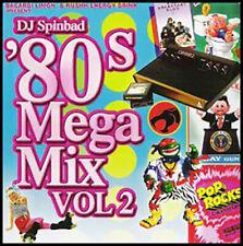 DJ Spinbad 80's Mega Mix Vol. 2 Rock the Casbah Cheese Pop Hits Non-Stop Mix Hot