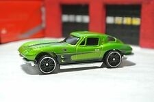 Hot Wheels '63 Corvette Stingray - Green - Loose - Exclusive - HTF - 1:64