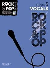 TRINITY ROCK & POP EXAMS Vocals Grade 5 + CD*
