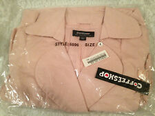 Girl's Junior Jacket  Pink Size L Coffeeshop brand style 6096 Double Breasted