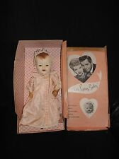 "RARE 1952 AMERICAN CHARACTER I LOVE LUCY BABY 15"" DOLL IN ORIGINAL OUTFIT & BOX"