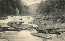 Ste. Anne de Beaupre Quebec Ste. Ann's Falls c1910 Postcard