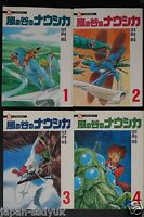 JAPAN Nausicaa of the Valley of the Wind Film Comic vol.1~4 Complete Set
