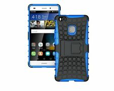 Heavy Duty Shockproof Hard Case Cover With Stand for Various Smart Mobile PHONES Nokia Nokia 6 Blue