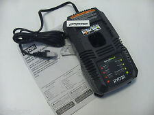 Ryobi 18V intelliport Dual Chemistry Lithium Battery Charger P118 P102 P107 P108