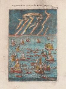 1685 Mallet Engraving of the Grand Banks, Newfoundland