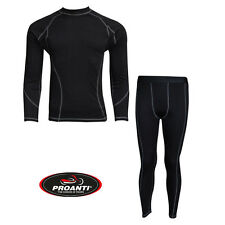 PROANTI Motorrad Ski Unterwäsche warme Funktionswäsche Motorrad Thermo Anzug