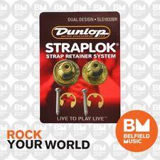 Jim Dunlop Dual Straplock Brass J103BR Strap Lock StrapLok Strap Lock Lok