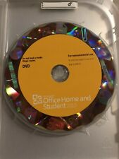 Microsoft Office Home and Student 2010 Software RELPACEMENT DISC ONLY NO KEY