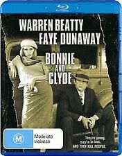 BONNIE AND CLYDE BLU RAY - NEW & SEALED WARREN BEATTY, FAYE DUNAWAY,GENE HACKMAN