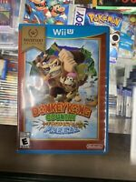 Donkey Kong Country: Tropical Freeze (Wii U, 2014) Nintendo  selects