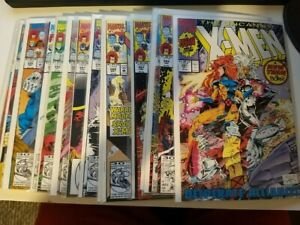 Uncanny X-Men Lot - #281, 284-297, 299 (16x comics)