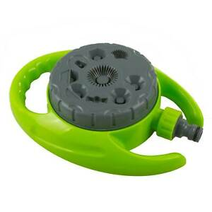 Garden Hose Lawn Sprinkler 360° 8 Pattern Irrigation Watering Soaker Water Spray