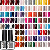 8ml LEMOOC Esmalte de Uñas UV Gel Pegamento de Uñas Nail UV Gel Polish Soak off