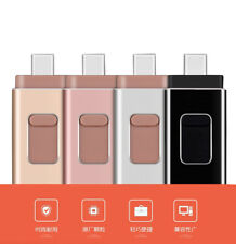 Flash Drive USB Memory Stroage 32GB 256GB Type-C Pendrive For iPhone Android lot
