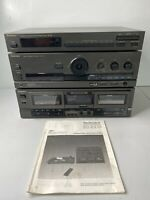 Technics Stereo Intergrated Amplifier SU-G70, ST-K50 Tuner RS-TR167 Parts/Repair