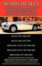 AUSTIN HEALEY 3000 Mk I II III BN7 BT7 BJ8 Owners Manual Handbook Service Repair