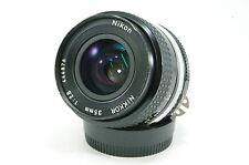 Vintage Prime Lens Nikon Nikkor 35 mm 2.8 le Japon AI-S AI S mount ref.4111520