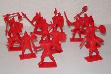 Chevaliers médiévaux de l'Europe de l'Est. Soldats en plastique 1/32